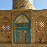 The base of minaret of the Shrine (Khanaqah) of Shaykh 'Abd al-Samad as seen from the North - Photo by Connie Zilles