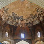 Dome inside the Keisaria Bazaar at the North end of the Maidan (Naqsh-e Jahan Square) in Isfahan