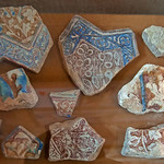 Sultanieh Luster Tile specimens from Ilkhanad Period, 14th C. CE