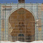 Isfahan - Old Town - Congregational (Jame) Mosque - West Iwan