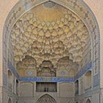 Isfahan - Old Town - Congregational (Jame) Mosque - East Iwan